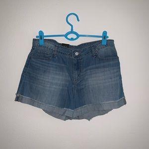 Calvin Klein Jean Shorts Sz 12